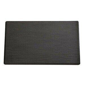 GN 2/4 Tablett Slate schwarz 53 x 16,2 cm, H 1,2 cm Assheuer & Pott