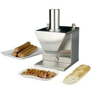 Currywurstschneider, mit Automatik 18,5 x 22,5 x 33 cm 230V / 0,13kW Cookmax black