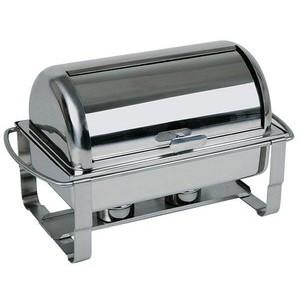Rolltop-Chafing Dish 9 Ltr. Caterer Edelstahl Assheuer & Pott