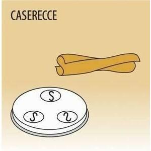 Matrize Caserecce für Nudelmaschine 516002 und 516003 Cookmax black