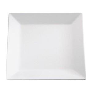 Tablett 51x51cm Höhe 3cm Melamin weiss Pure Assheuer & Pott