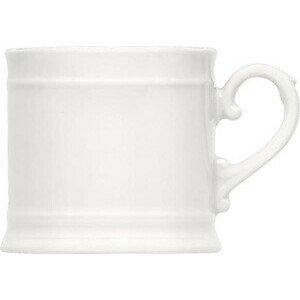 Becher 0.36 Porzellan weiss Bauscher