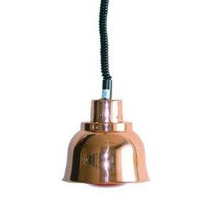 Wärmestrahler Kupfer, Infrarot, 250 W 230V / 0,25kW Cookmax black
