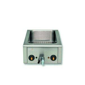 Bainmarie GN 1/1 h, 15 cm 40,0 x 60,0 x 20,0 230 V / 1,8 kW Cookmax black