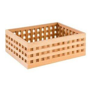 34 x 26 cm Kiste Höhe 12,5 cm Buche Assheuer & Pott