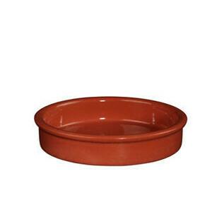 Backform ohne Griffe Ø 17 cm terracotta