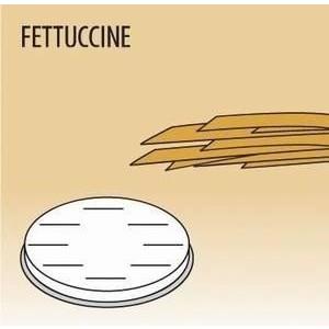 Matrize Fettuccine für Nudelmaschine 516002 und 516003 Cookmax black