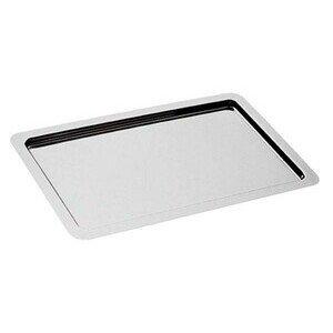 Tablett GN 1/2 32,5 x 26,5 cm Edelstahl glatter Rand Assheuer & Pott