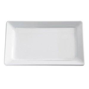 Tablett GN 2/4 Pure weiss 53x16,2 cm Höhe 3 cm Assheuer & Pott