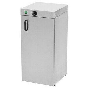 Tellerwärmeschrank für 60 Teller D. 350 40 x 46 x 87 cm 230 V / 0,75 kW Cookmax black