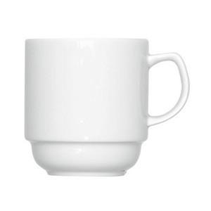 Becher 0,30 ltr. 1118/0.30 Porzellan weiss Bauscher