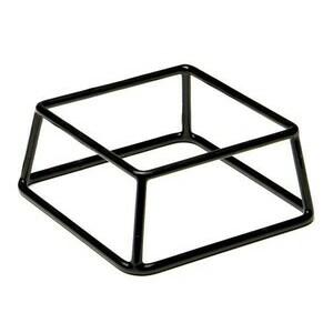 Buffet-Ständer schwarz Multi 18 x 18 cm, H: 8 cm Assheuer & Pott