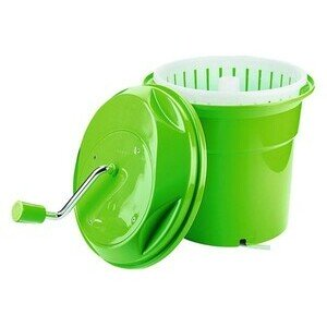Salatschleuder 10 Liter Griff einklappbar Contacto