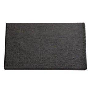 GN 1/4 Tablett Slate schwarz Schiefer 26,5 x 16,2 cm, H 1,2 cm Assheuer & Pott