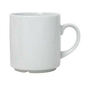 29cl Kaffeebecher stapelbar Porzellan weiss WAS
