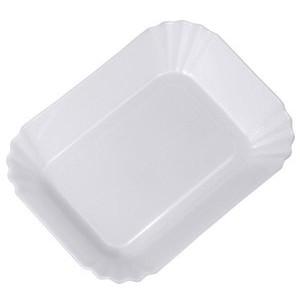 19x13,5cm Currywurstschale Polypropylen weiss Contacto