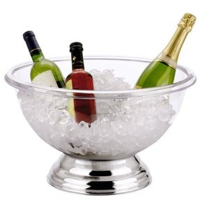 15ltr. 44cm Champagnerkühler Polycarbonat 18/10 Contacto
