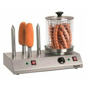 Elektrisches Hot-Dog-Gerät 4 Toaststangen, 0,96 kW / 230 V Bartscher