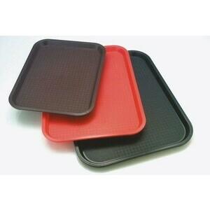 Fast Food-Tablett 41 x 31 cm schwarz Assheuer & Pott