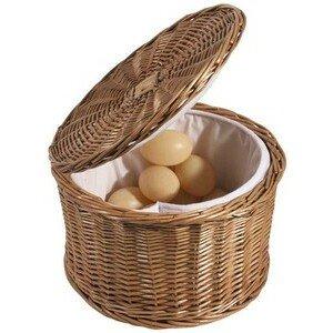 Eierkorb 26 cm aus Vollweide, Contacto