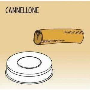 Matrize Cannellone für Nudelmaschine 516002 und 516003 Cookmax black