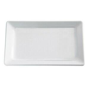 32,5x17,5x3,0cm Tablett GN 1/3 3cm hoch Melamin weiss Assheuer & Pott