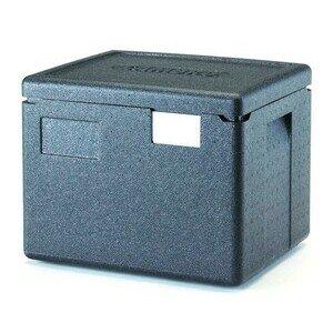 Wärmebox Top-Lader für GN 1/2-200 mm schwarz Cookmax silver
