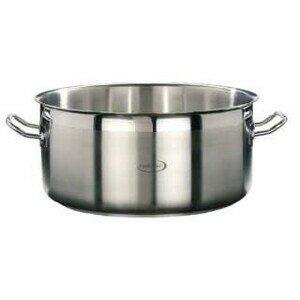 32cm Bratentopf o. Deckel 12,1 ltr. Edelstahl Induktion Professional Cookmax