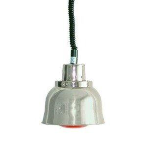 Wärmestrahler Chrom, Infrarot, 250 W 230V / 0,25kW Cookmax black