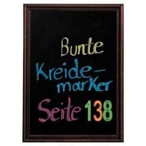 Angebotstafel Hartholz dunkel 50 x 70 cm
