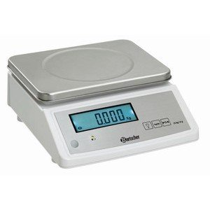 Elektronische Küchenwaage Wiegebereich bis 15kg 5g Teilung Bartscher