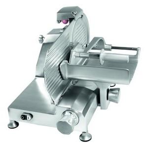 Aufschnittmaschine Senkrechtschneider Messer Ø250mm 230V / 0,26kW Cookmax black