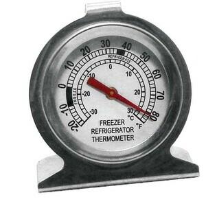 Tiefkühl-/Kühlschrank-Thermometer Ø 7,3