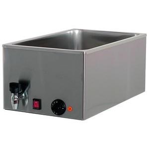 Elektro-Bainmarie 1x GN1/1, H 15cm, mit 230V / 1,0kW Cookmax black
