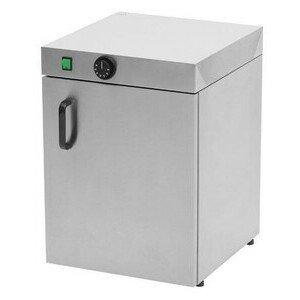 Tellerwärmeschrank für 30 Teller D. 350 40 x 46 x 57 cm 230 V / 0,4 kW Cookmax black