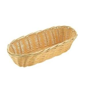 Brot - Obstkorb 23x10 cm oval Poly-Rattan Assheuer & Pott