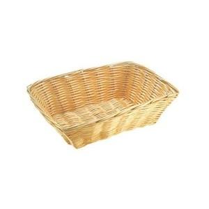 Buffet-Korb rechteckig beige 30 x 22 cm, H: 7 cm Assheuer & Pott