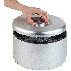 Eisbox Maxi KU 8 ltr. Alueloxiert Ø 8cm Höhe 20cm Assheuer & Pott