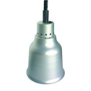 Wärmestrahler Aluminium, Infrarot, 250 W 230V / 0,25kW Cookmax black