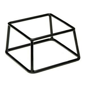 Buffet-Ständer schwarz Multi 18 x 18 cm, H: 10 cm Assheuer & Pott