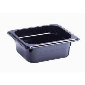 Behälter KU GN 1/6-50 schwarz Cookmax black