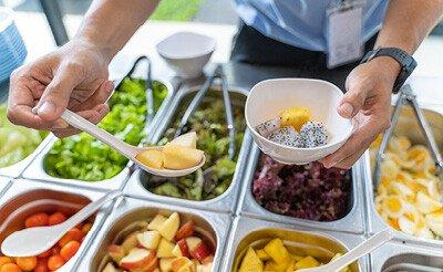 Salatbar / Kühlbuffet