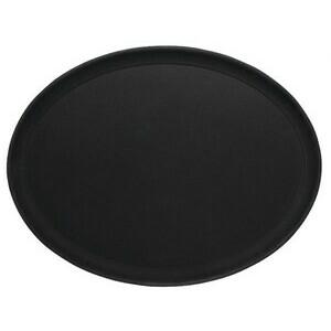Tablett oval, rutschfest Contacto