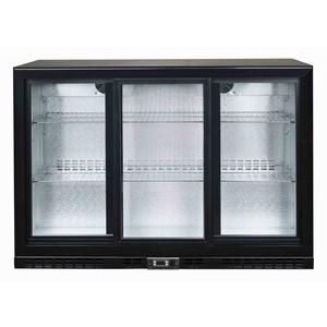 Flaschen-Kühlschrank, 320 l, 3 Glasschie 1350 x 520 x 900 230 V / 0,26 kW Cookmax orange