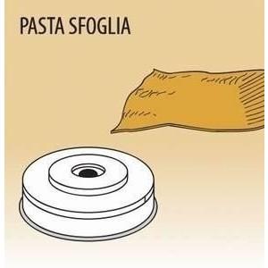 Matrize Pasta Sfoglia für Nudelmaschine 516002 und 516003 Cookmax black