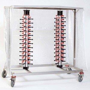 Tellerstapler fahrbar+klappbar Modell PM 48 Z Plate Mate für 48 Teller ADE