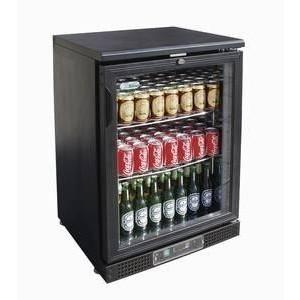 Flaschen-Kühlschrank, 138 l, 1 Glasflüge 600 x 520 x 900 230 V / 0,18 kW Cookmax orange