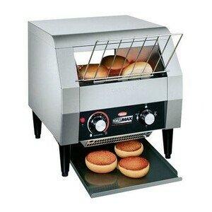 Durchlauftoaster, für 360 Scheiben/h 36,8 x 45,1 x 37,8 cm 230V / 1,8kW Cookmax black