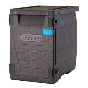 Wärmebox Front-Lader 86 l für GN 1/1 schwarz Cookmax silver
