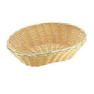 Brot- und Obstkorb oval beige 18 x 12 cm, H: 7 cm Assheuer & Pott